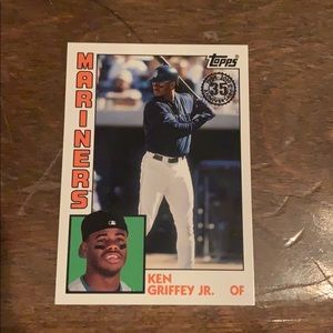 Limited edition. Ken Griffey jr. card
